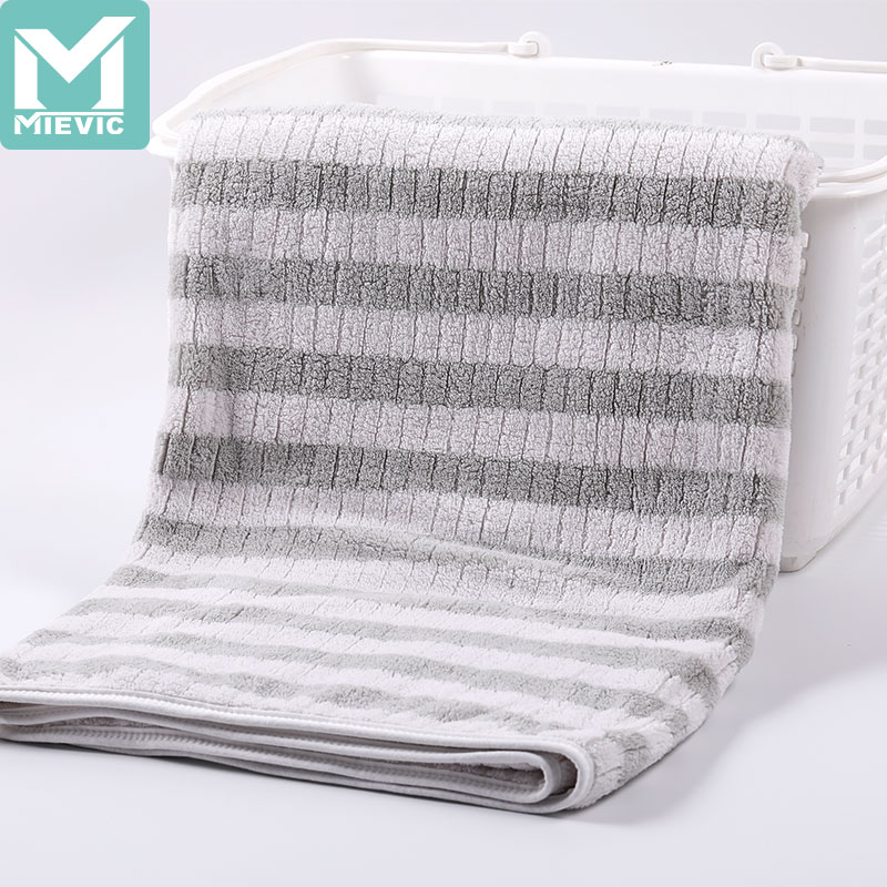 XF warp knitted cationic edging bath towel 914998 MIEVIC/米薇可
